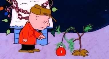 "A CHARLIE BROWN CHRISTMAS - When Charlie Brown complains about the overwhelming materialism he sees amongst everyone during the Christmas season, Lucy suggests he become director of the school Christmas pageant. Charlie Brown accepts, but it proves to be a frustrating struggle; and when an attempt to restore the proper spirit with a forlorn little fir Christmas tree fails, he needs Linus' help to learn what the real meaning of Christmas is. ""A Charlie Brown Christmas"" airs on MONDAY, DECEMBER 8 and TUESDAY, DECEMBER 16 (8:00-9:00 p.m., ET), on the ABC Television Network. (© 1965 United Feature Syndicate Inc.)"
